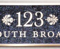 123 SOUTH BROAD – Cast Bronze Plaque