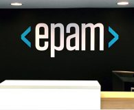 EPAM – Painted Acrylic Letters for Offices in Philadelphia, Conshohocken & Newtown Square, PA - Mountain View, San Francisco & Santa Monica, CA, Manhattan and Toronto