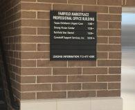 FAIRFIELD MARKETPLACE - Changeable Aluminum Directory in Shreveport, LA
