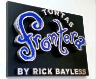 FRONTERA – Aluminum Fabricated Letters Mounted on an Aluminum Pan Face Panel in Philadelphia