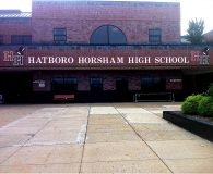 HATBORO HORSHAM HIGH SCHOOL – Painted Acrylic Letters in Horsham, PA