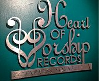 HEART OF WORSHIP – Brushed Aluminum Metalike™ Letters shipped to Brooklyn, NY