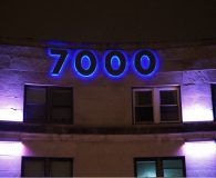 INNER-CITY MOVEMENT THEATER 7000 – RGB LED Illuminated Halo-Lit Reverse Channel Letters in Upper Darby, PA