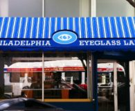 PHILADELPHIA EYE GLASS – Custom Double Layer Canvas in Philadelphia