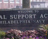 PHILADELPHIA NAVY YARD – Cast Aluminum Letters at Philadelphia Navy Yard in Philadelphia