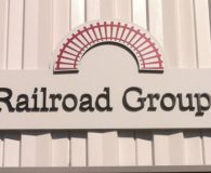 THE RAILROAD GROUP – Painted Sintra Panel with Sintra Dimensional Letters in Paulsboro, NJ