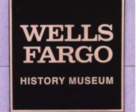 WELLS FARGO HISTORY MUSEUM - Cast Bronze Metal Plaque in Philadelphia