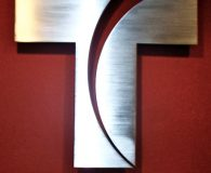 WWSI TELEMUNDO – Solid Satin Aluminum Letters installed in Philadelphia
