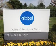 Global Furniture Company Monument Sign